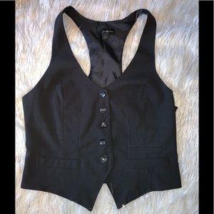 Black Vest Sz L